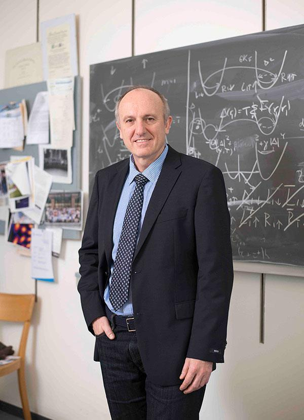 Professor Daniel Loss from the University of Basel's Department of Physics and the Swiss Nanoscience Institute has been awarded the King Faisal International Prize for Science 2017.