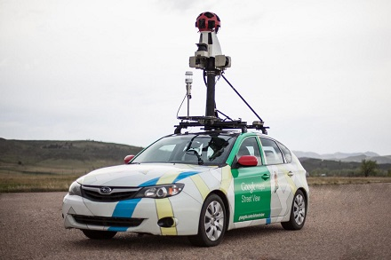 Some Google Street View cars have been specially equipped with methane analyzers to detect methane lakes from natural gas lines.