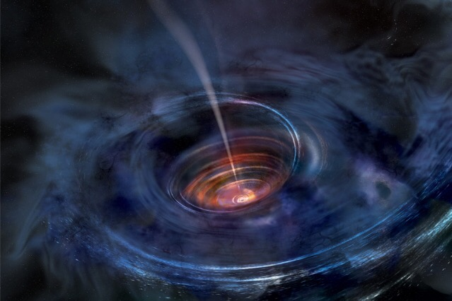 MIT scientists identify black hole choking on stardust
