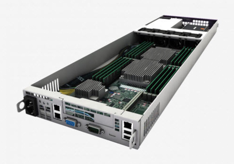 The Eco Blade server reduces CAPEX and OPEX through innovative design and engineering.