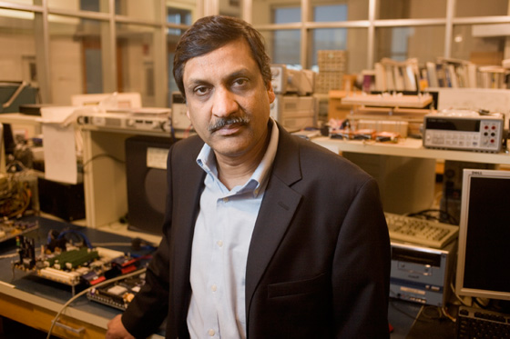 Anant Agarwal, head of MIT's Open Learning Enterprise, which will oversee MITx's development. Photo: M. Scott Brauer