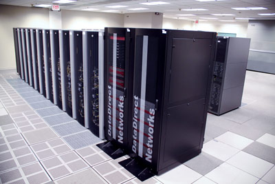 Data from the most recently compiled list of the TOP500 project would rank the Ohio Supercomputer Center's new Oakley Cluster as the 180th fastest supercomputer in the world, but also as the 22nd highest rated system in the world when comparing actual benchmark performances against the maximum theoretical performance of the system. (OSC/MacConnell)